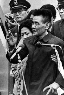 奇跡の衝撃ニュース戦後28年たってからグアムで発見された横井庄一さんが再び話題になっていますね